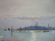 Poole Harbour by Ernest Dade