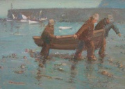 Carrying the Boat Ashore by Richard Marshall