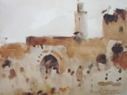 A Mosque in Tangiers by William Frederick Mayor
