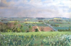 Extensive Summer Landscape by Angus Rands